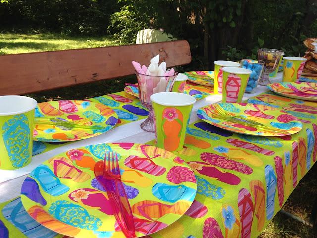 Party-Deko für Teenager-Geburtstag