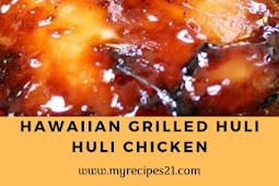 Hawaiian Grilled Huli Huli Chicken