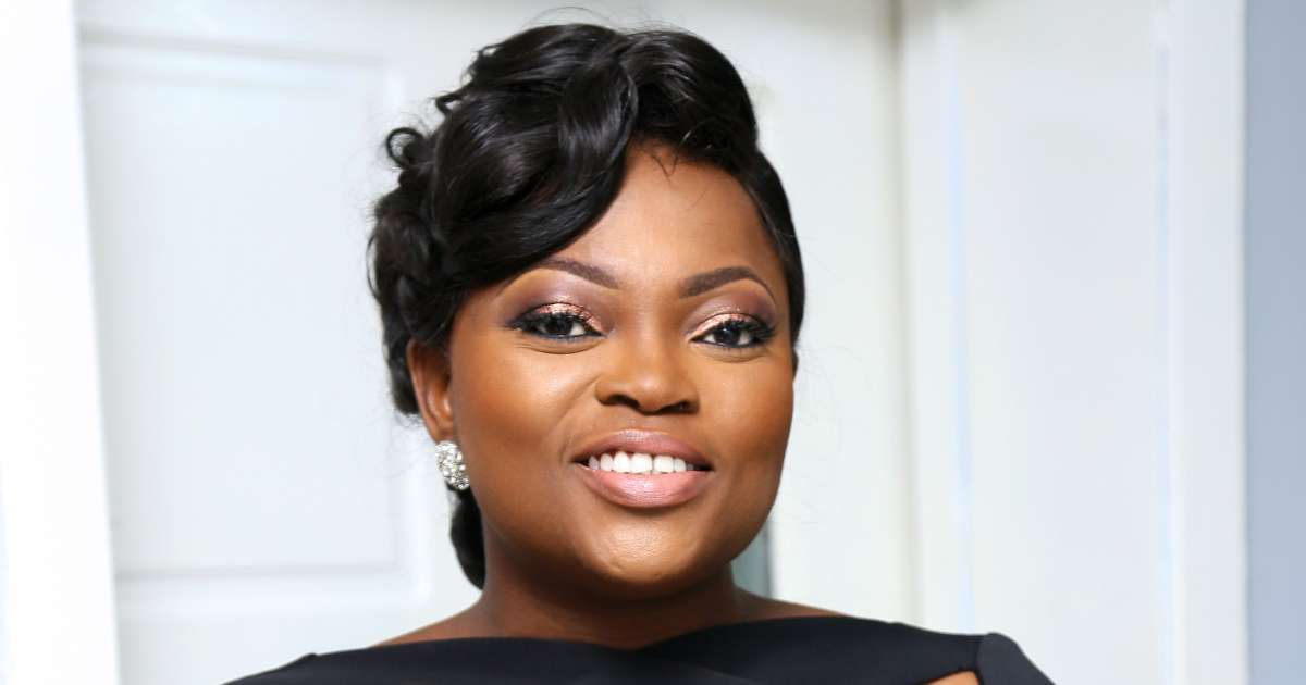 entertainment: Funke Akindele denies giving birth to twins in London