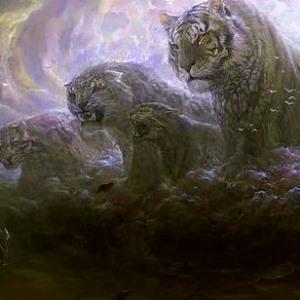 Batu Geliga Khodam Lima Macan Ganas