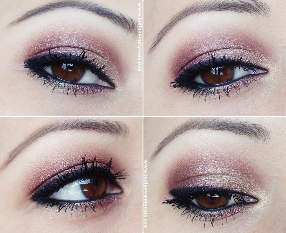 Indian Vanity Case: 2-in-1 Eye Makeup Tutorial ~ Metallic ...