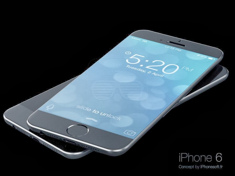 Body look with slim design of iphone 6