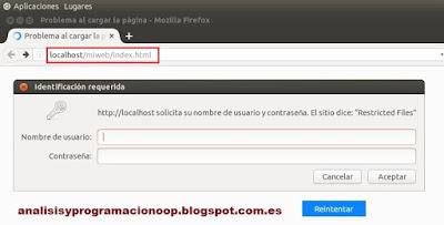 acceso web por usuario