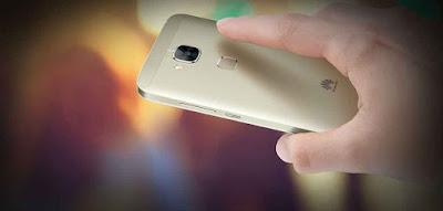 bagian belakang Huawei G7 Plus Terbaru