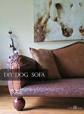 Amazing DIY Dog Sofa