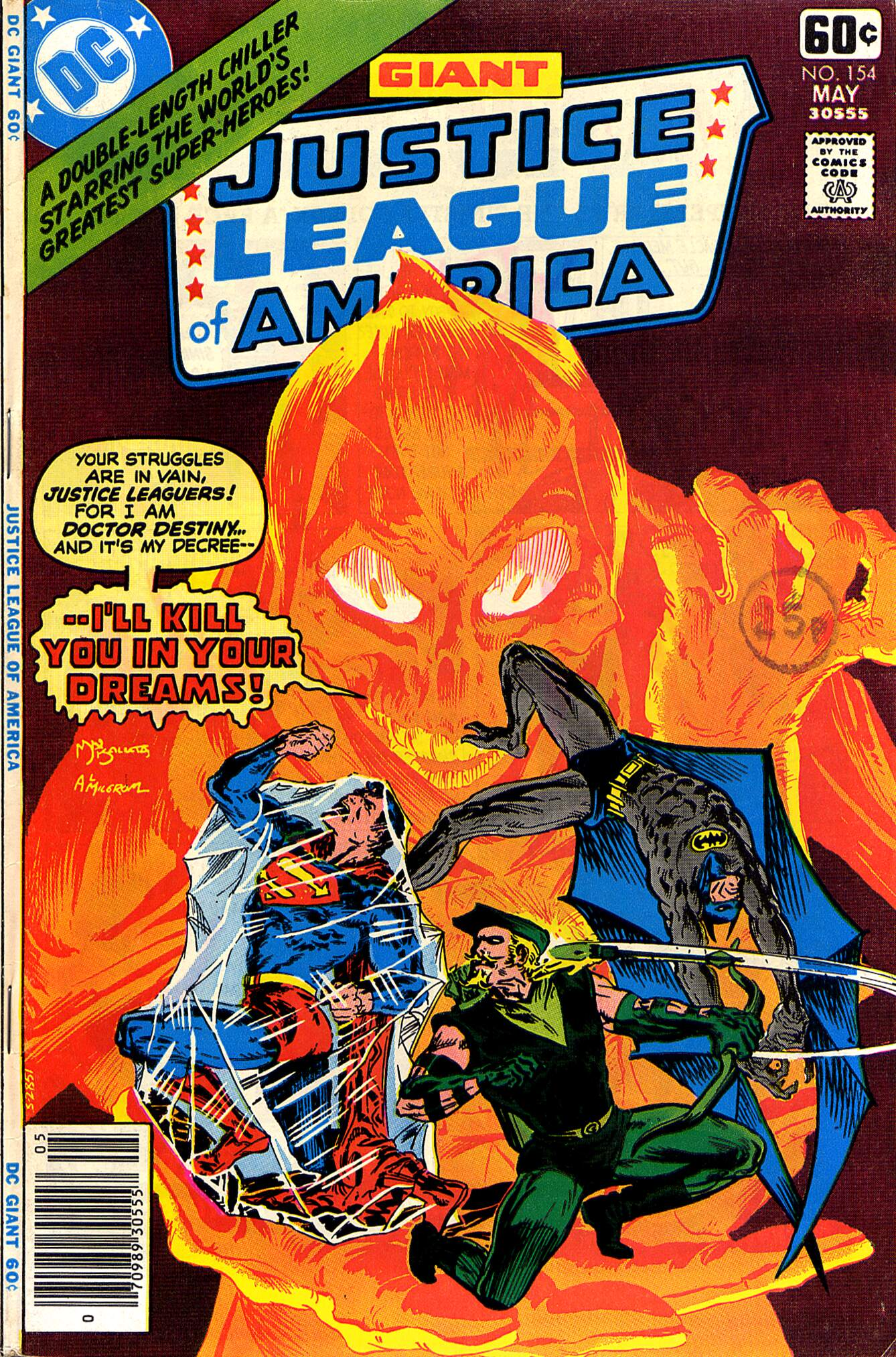 Justice League of America (1960) 154 Page 1