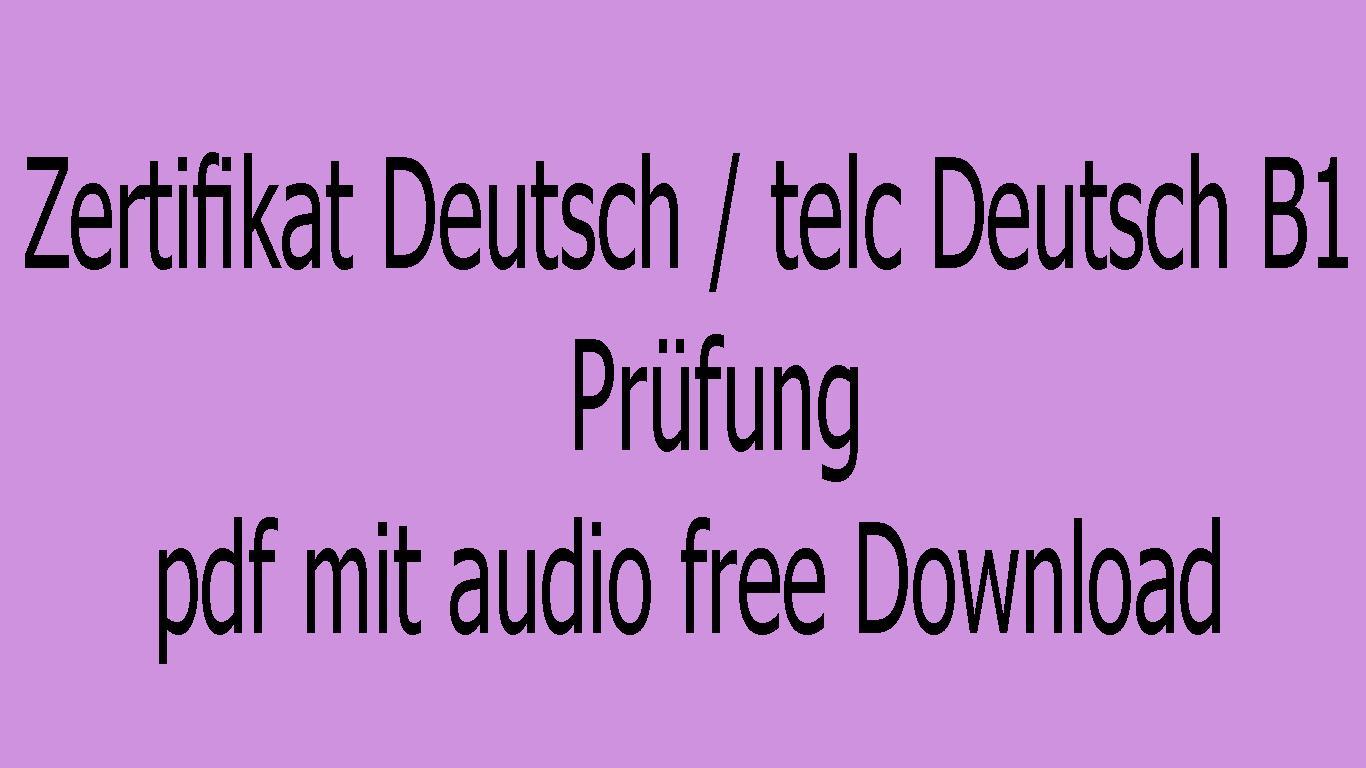 Lernziel Deutsch Grundstufe 1 Pdf