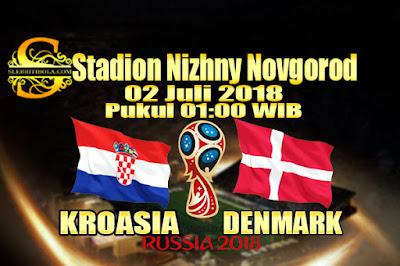 JUDI BOLA DAN CASINO ONLINE - PREDIKSI PERTANDINGAN PIALA DUNIA 2018 KROASIA VS DENMARK 02 JULI 2018