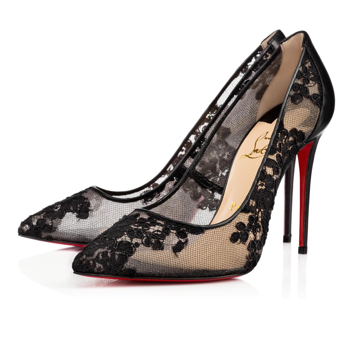 Lace Louboutin Shoes
