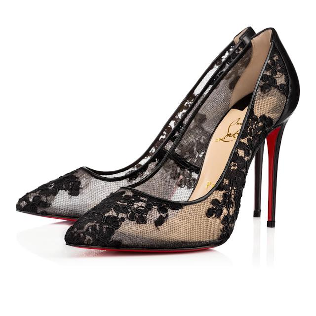 Sapato preto para debutante, Christian Loubotin sugestão