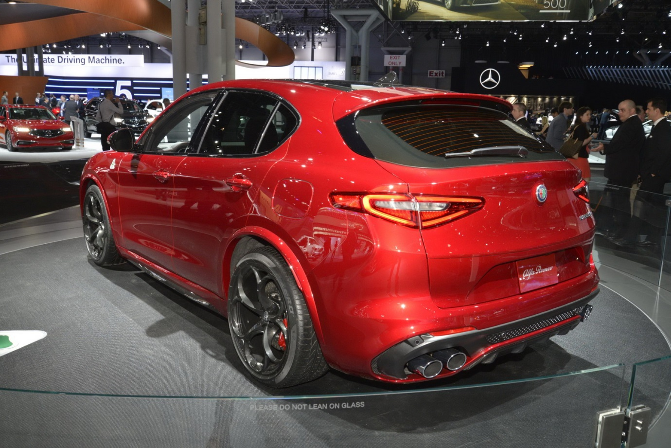 Alfa Romeo Stelvio Quadrifoglio Usa Ms Blog Umbrella And It Has The Power To Do So As With Badge Comes A 29 Liter Twin Turbo V6 Engine Which Is Shared Range Topping Version Of