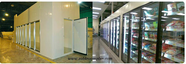 Display Glass Door Cold Room