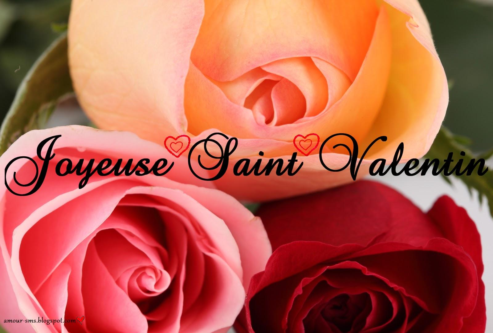 Sms romantique pour la saint valentin amour sms - Image saint valentin romantique ...