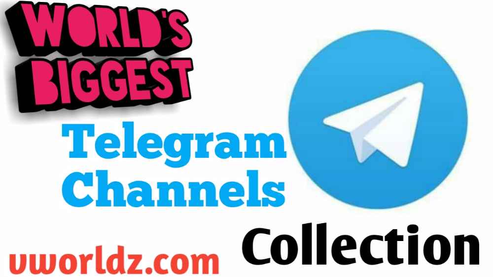 Telegram Channels World's Biggest collection All Category