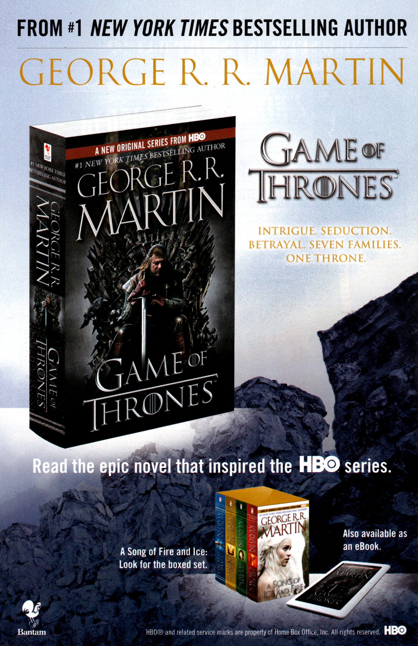Read online A Game Of Thrones comic -  Issue #1 - 34