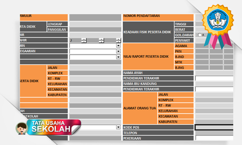 Aplikasi PPDB Khusus SMK - SMA - MA Terbaru dengan Fungs Excel
