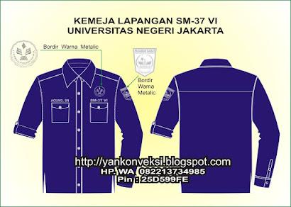 KEMEJA LAPANGN SM3 T UNIVESITAS NEGERI JAKARTA
