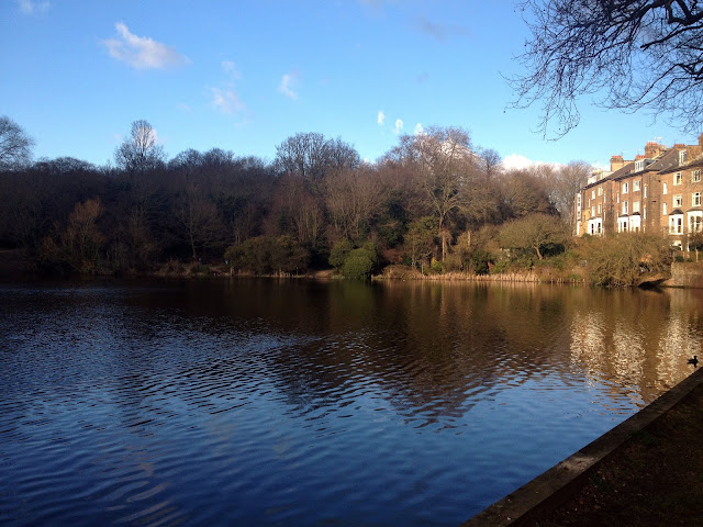 De camino a Hampstead park