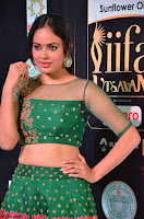 Nandita Swetha in a tight Green Choli Ghagra at IIFA Utsavam Awards March 2017 ~ 013.JPG