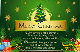 Merry Christmas Wishes Messages Greeting SMS