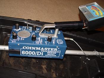 Détecteur métaux Coinmaster 6000 DI Professional Whites, détecteurs métaux vintage, vintage métal detector, détecteurs de métaux anciens, old métal detector