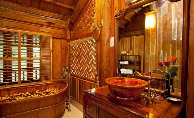 Phòng tắm phong cách cổ điển
