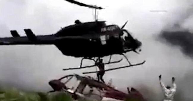 Άντρας τεμαχίστηκε μέχρι θανάτου από λεπίδες ελικοπτέρου που πήγε να τον σώσει BINTEO