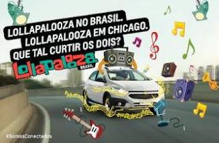 Promoção Viagens Lollapalooza 2019 Chevrolet Onix Participar