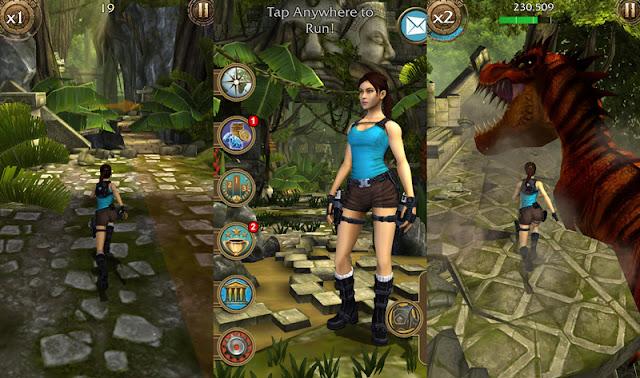 Download Lara Croft: Relic Run Mod Apk+DATA v1.9.94 terbaru