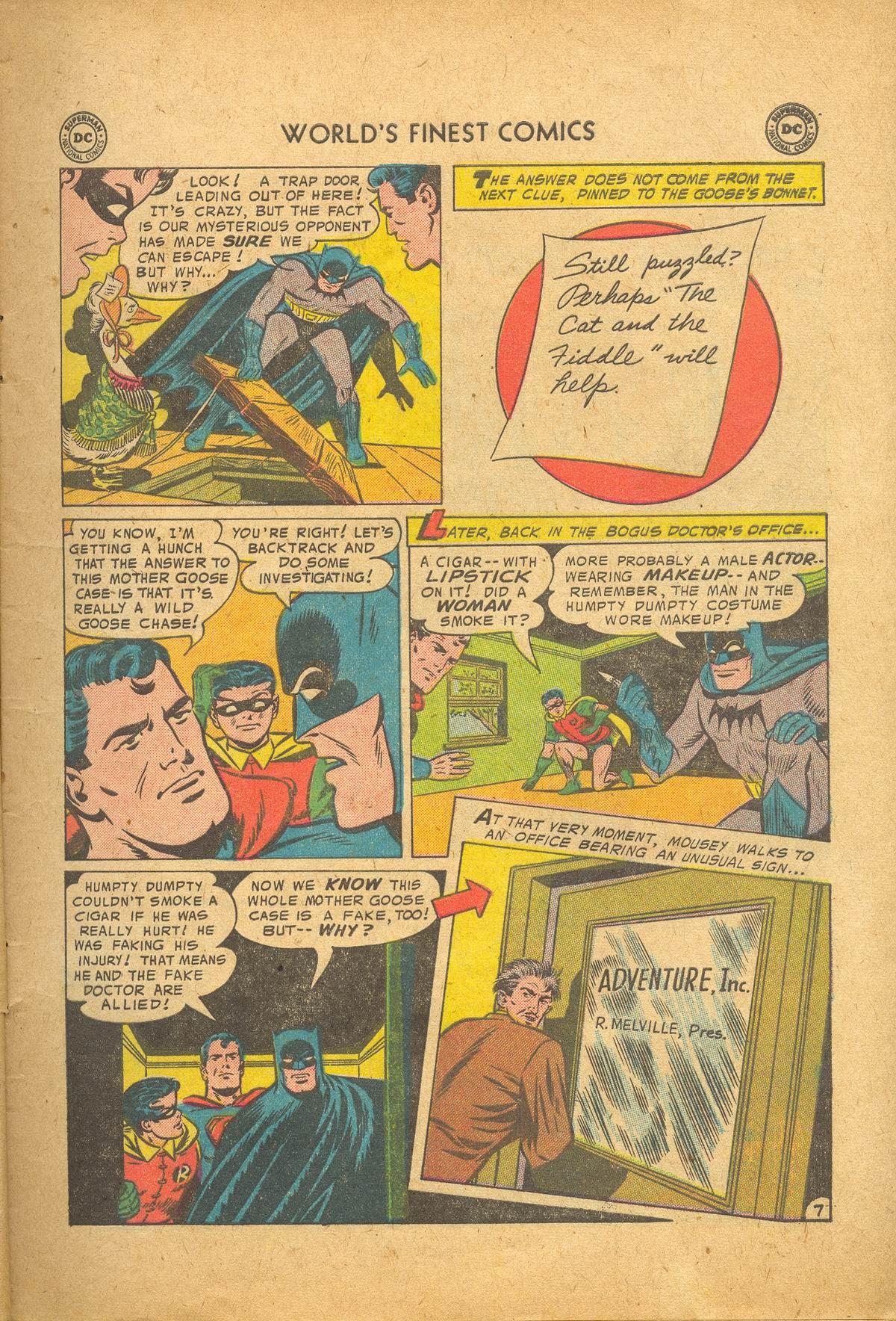 Read online World's Finest Comics comic -  Issue #83 - 9