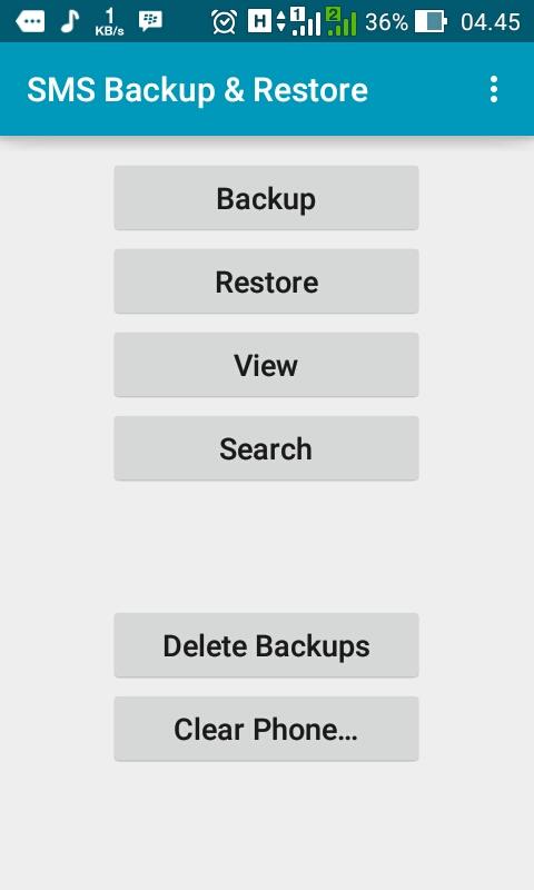 Cara Backup dan Restore SMS di Android