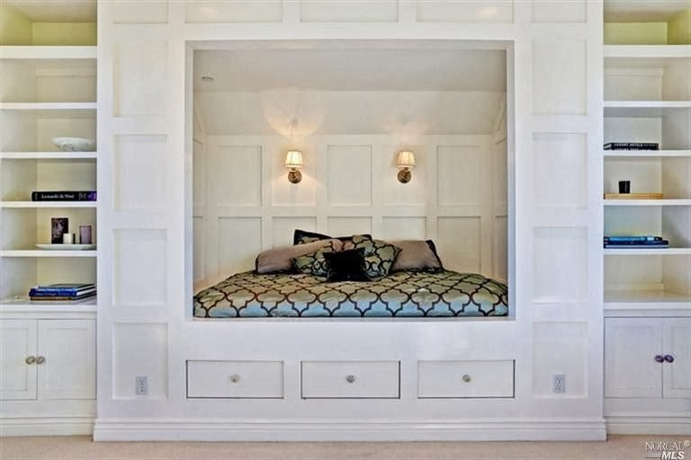 simply organized: Storage Solutions for Small Bedrooms