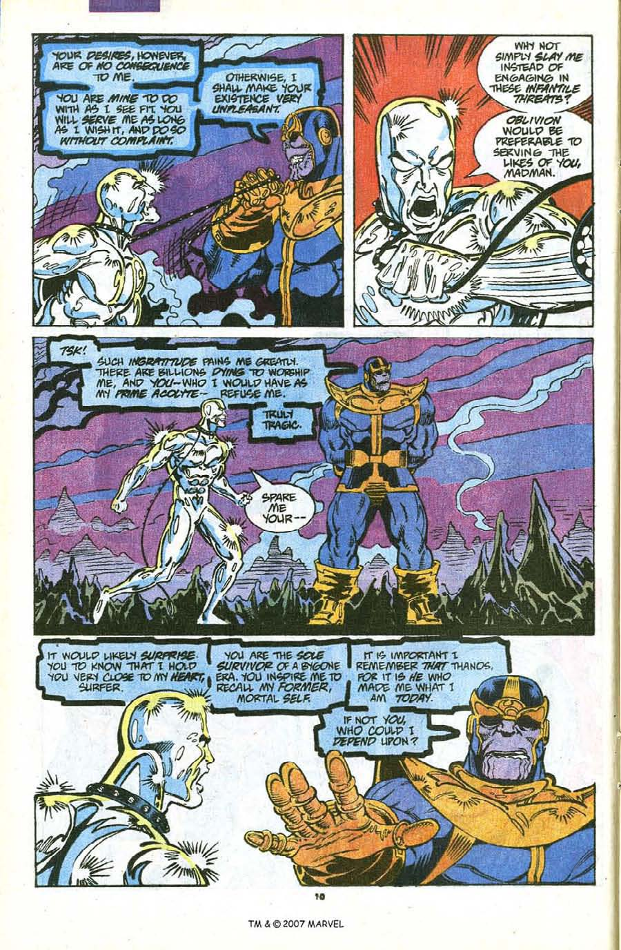 Read online Silver Surfer (1987) comic -  Issue #56 - 12