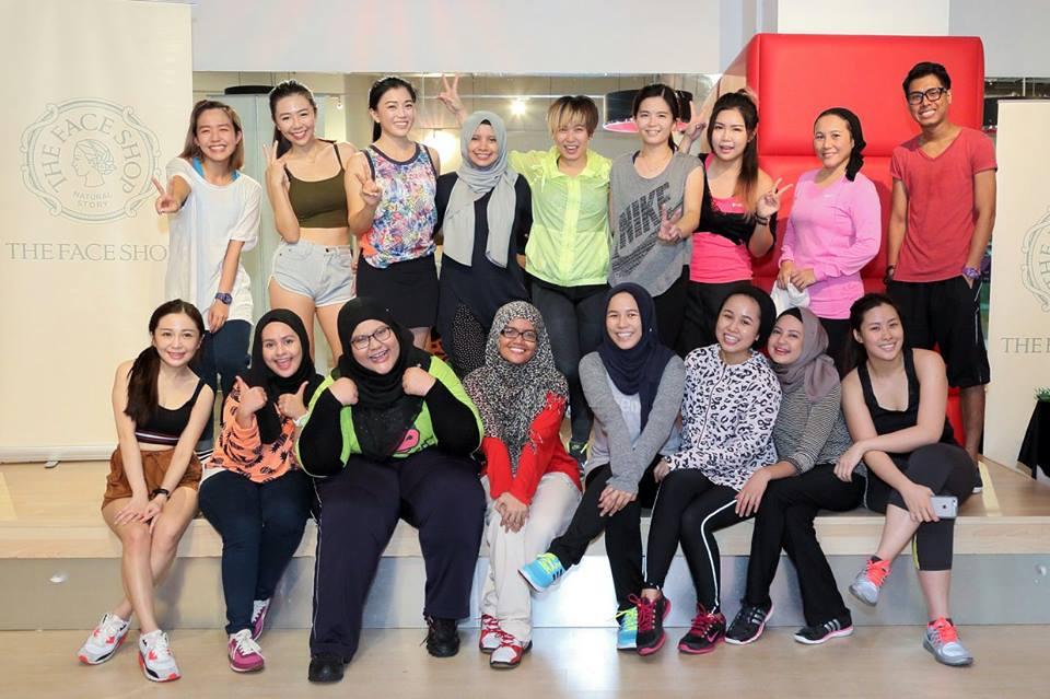 Zumba Workout Bersama The Face Shop di True Fitness Jaya 33