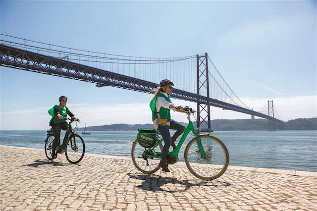 Excursão de bicicleta por Lisboa