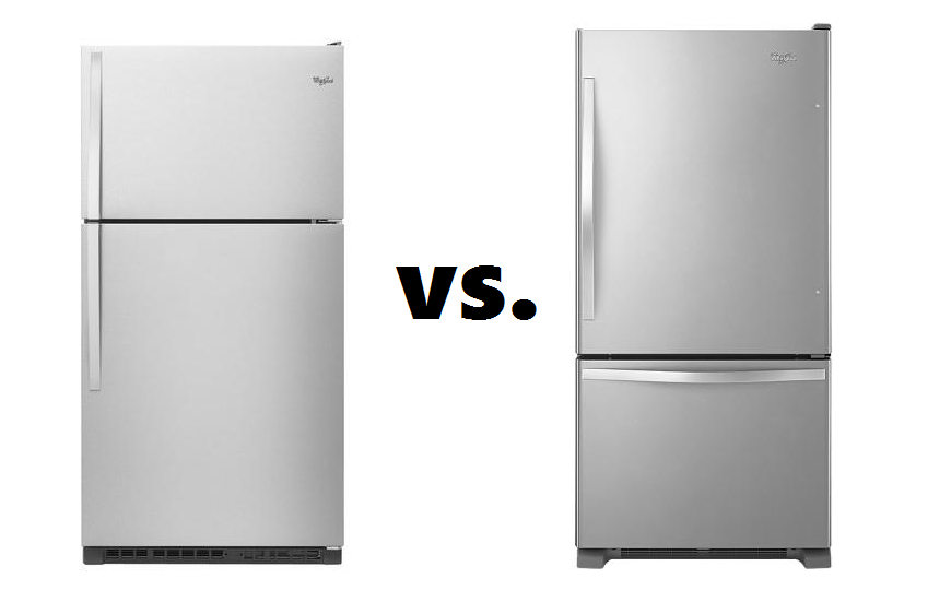 Bottom Freezer Refrigerators: Bottom Freezer Refrigerator Vs ... on