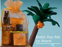 Logo Nashi Argan ti regala il suo set omaggio Nashi Sun : scopri come averlo