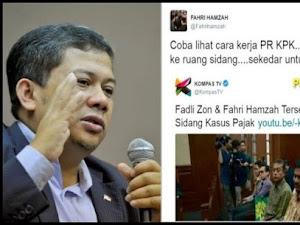 Fahri Hamzah Bongkar Permainan KPK di Kasus Pajak Yang Libatkan Ipar Jokowi