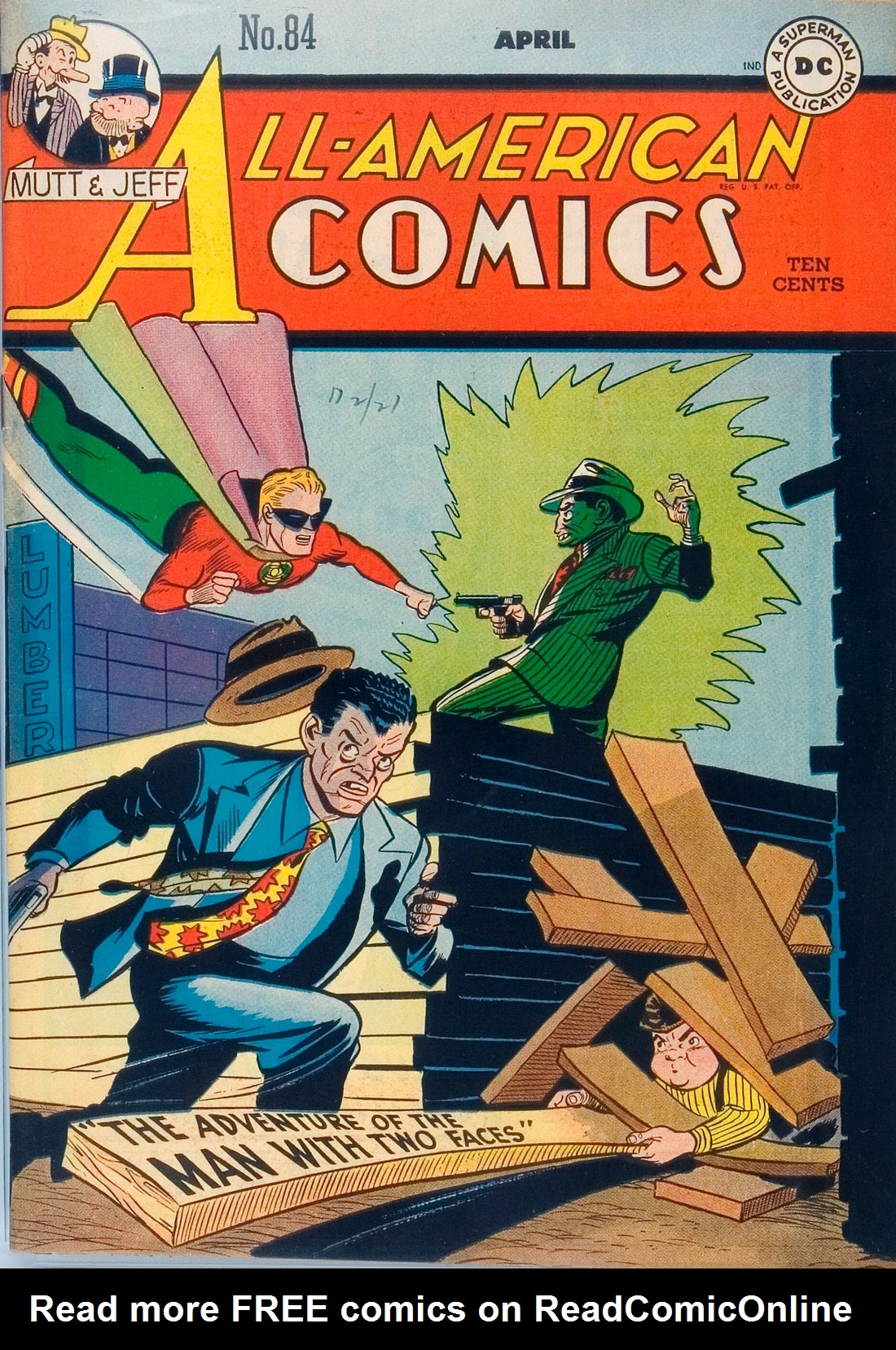 All-American Comics (1939) 84 Page 1