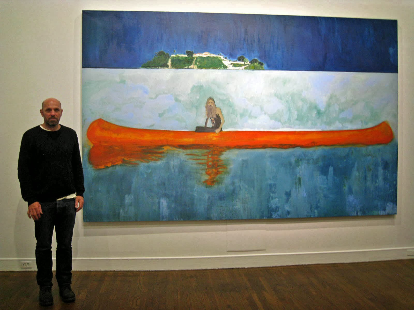 Art frame mmfa peter doig no foreign lands for Call for mural artists 2014
