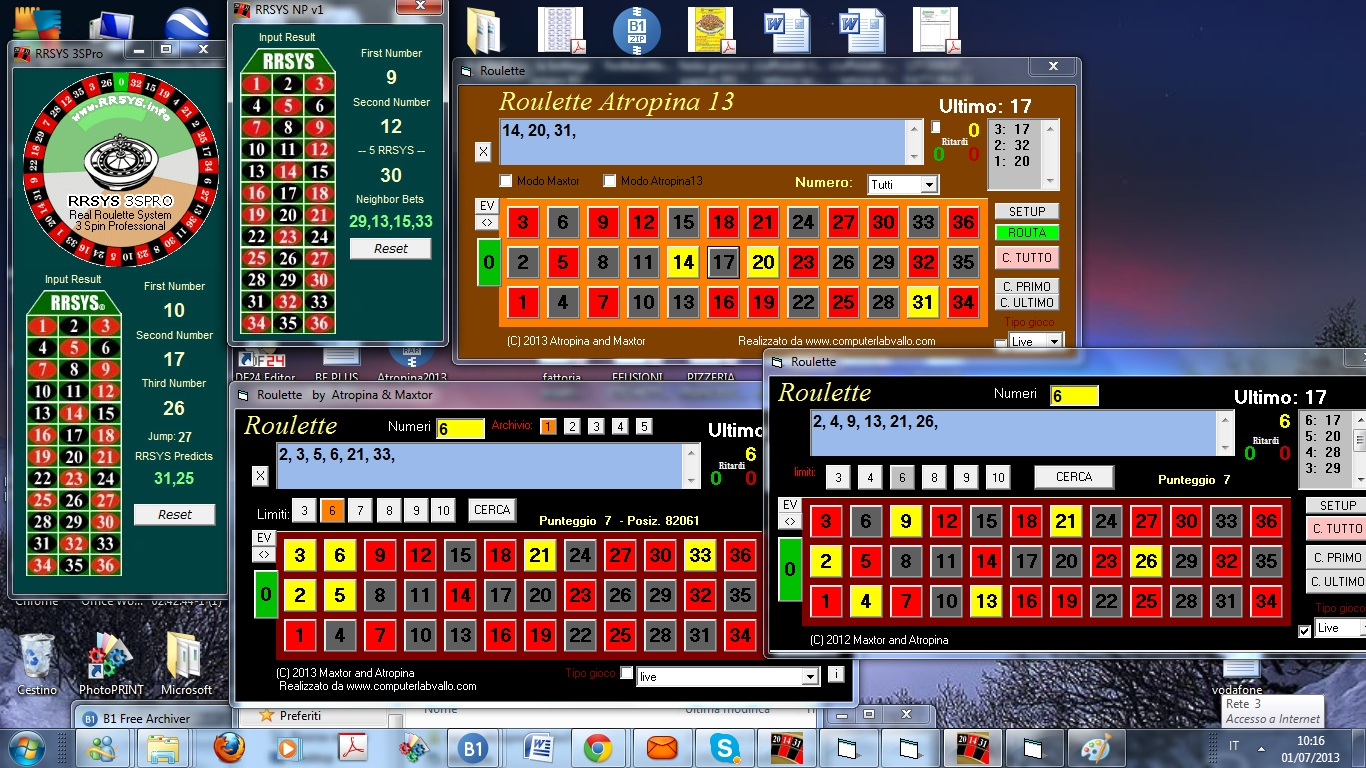 New roulette software 2014