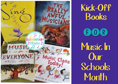 Kick-Off Books for Music In Our Schools Month