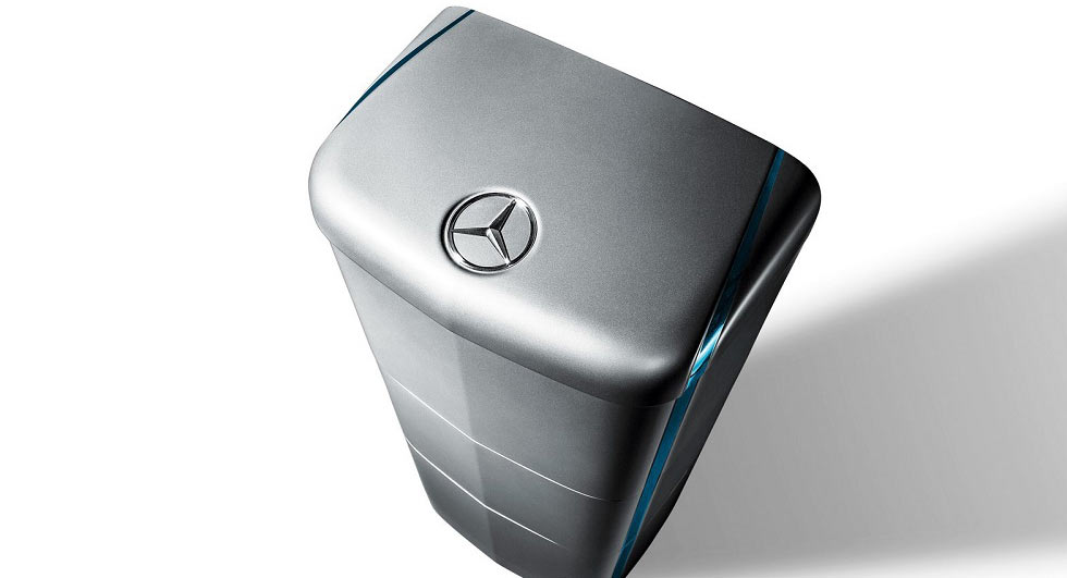 Mercedes-Benz brings a new model (of battery) to U.S.  homes
