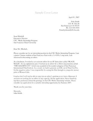 Cover Letter Wharton