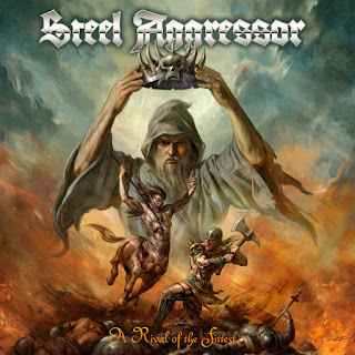 """Ακούστε τρία τραγούδια από τον δίσκο των Steel Aggressor """"A Rival of the Fittest"""""""