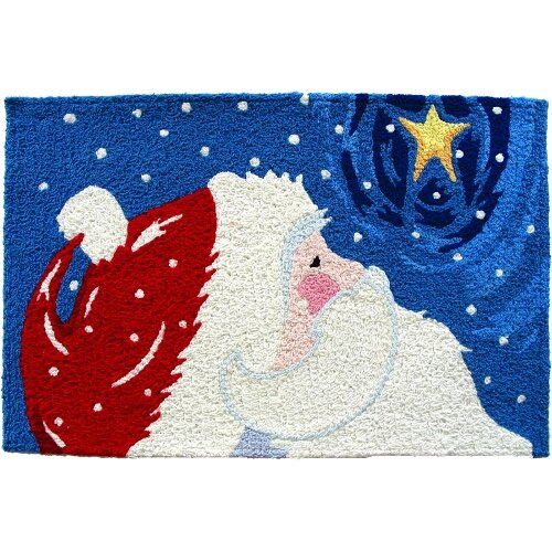 I M Tempted To Put This Star Gazing Santa By The Back Door That S Way We Go Outdoors See Stars At Night Front Has Too Many Trees