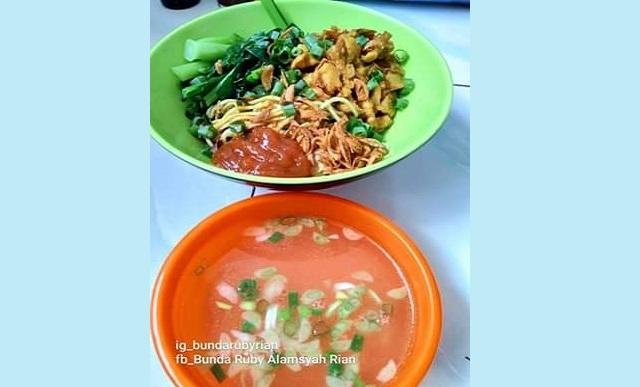 Resep Mie Ayam Solo Sedap dan Sederhana