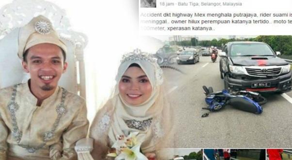 Suami Isteri Yang Maut Baru Sahaja Berkahwin, Isteri Sedang Hamil Anak Sulung.