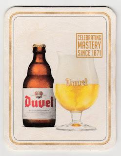 Sous-bock de la bière Duvel