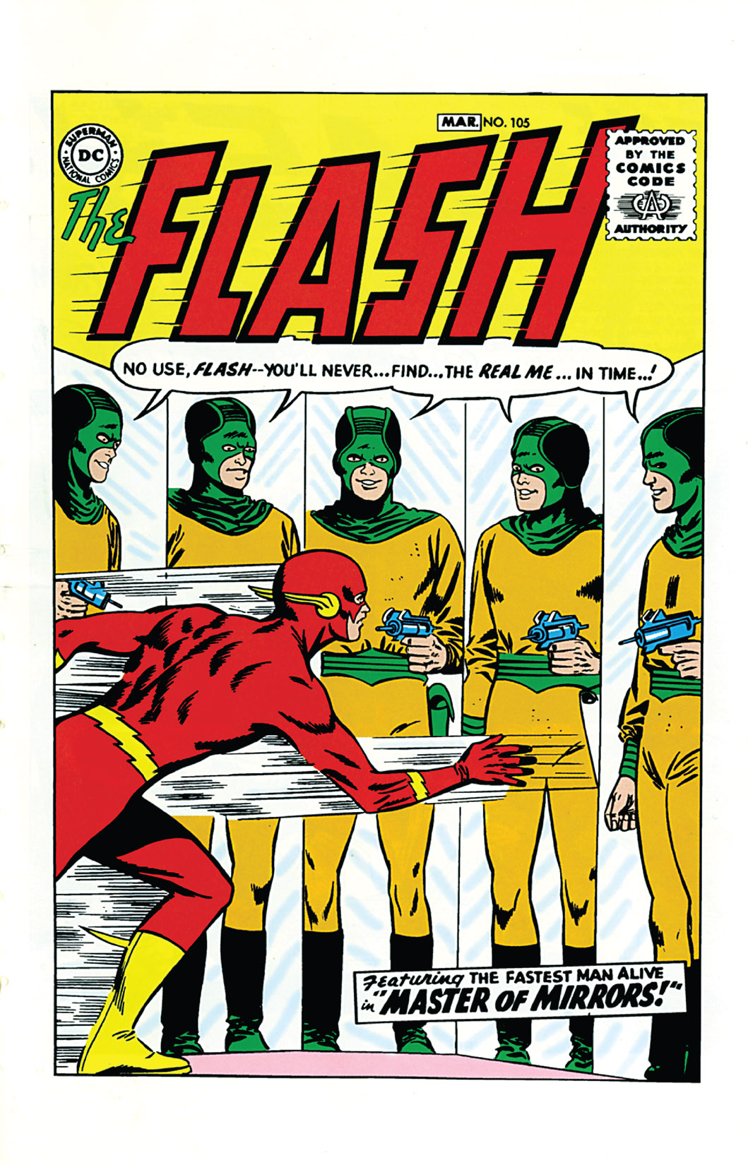The Flash (1959) 105 Page 1